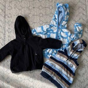 12m baby boy sweaters & vest